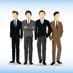 Man avatar icon. Businesspeople design. Vector graphic