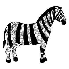 zebra mandala icon