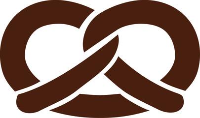 Simple prezel icon