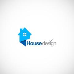 house design company logo