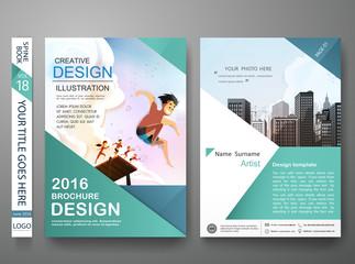 brochure design template vector photography flyers business magazine