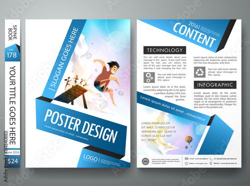 Free publisher poster template