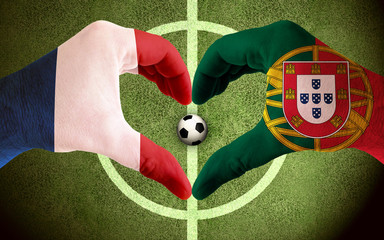 Frankreich vs Portugal Finale, Endspiel