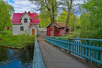 Jokirannan old villa in Asikkala
