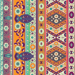 indian style vector pattern