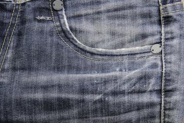 Texture of blue denim jean, background