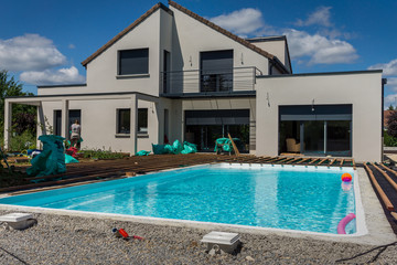 construction terrasse piscine