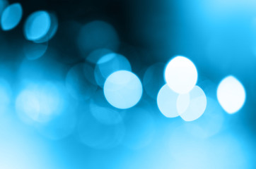 Abstract city lights blur blinking background. Soft focus.