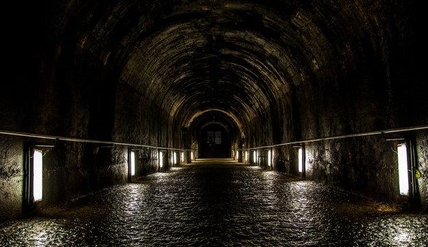 Tunnel im Stift Klosterneuburg in Wien, Vienna,