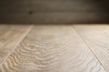 background of natural oak planks covered with oil