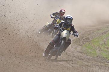 Poster Motorise Motorradrennen