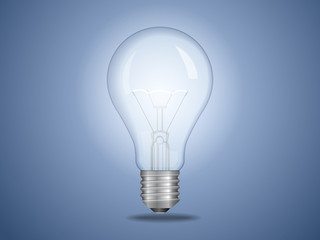 Vector light bulb. File is in eps10 format.