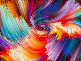 Vibrant Color Vortex