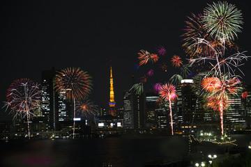 Tokyo fireworks,image