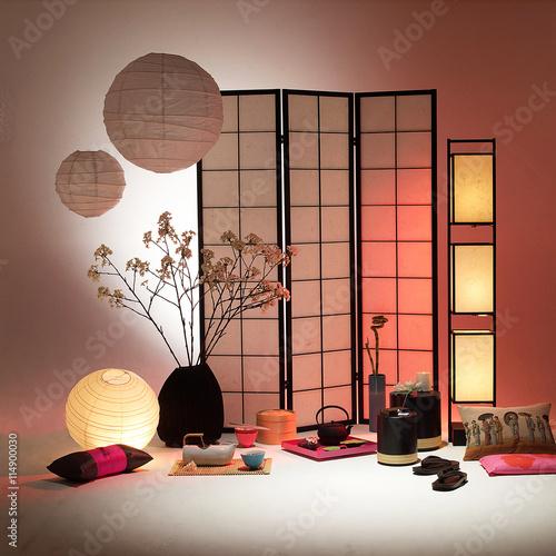 Salon japonais photo libre de droits sur la banque d 39 images image 114900030 - Salon japonais ...