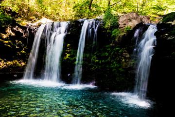 Wall Murals Waterfalls 暮雨の滝