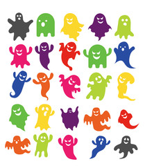 modern design ghost halloween picture