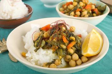 Kichererbsen- Curry