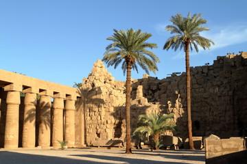 Die Tempel von Karnak in Ägypten