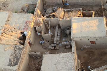 Dörfer bei Assuan in Ägypten