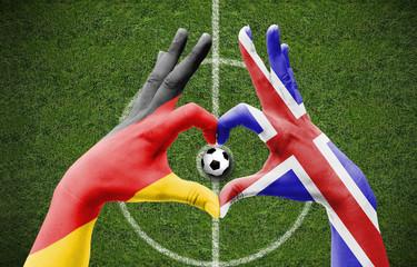 deutschland island fußball