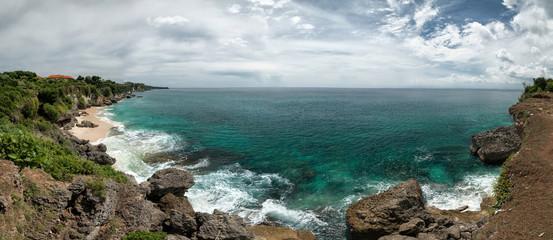 Holiday in Bali, Indonesia - Panorama Kubu Beach And Pantai Tengal Wangi