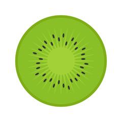 Flat icon kiwi. Vector illustration.