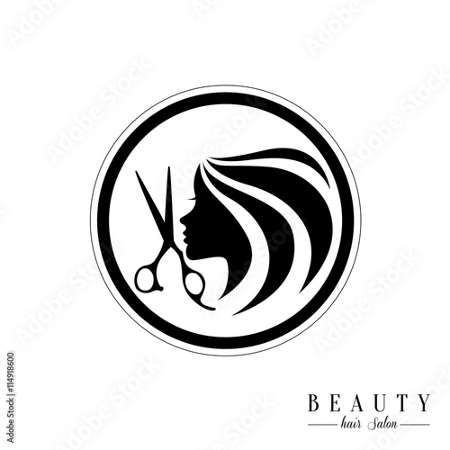 Beauty Hair Salon Logosalon Logo