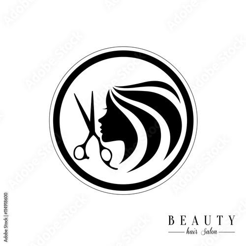 Beauty Hair Salon Logosalon Logo