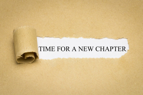 Time fo a new Chapter