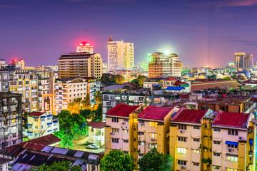 Yangon, Myanmar Skyline