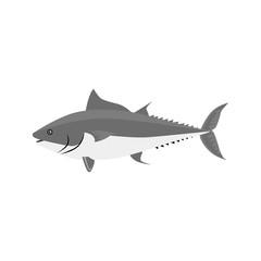 Fish Icon Design Flat Isolated