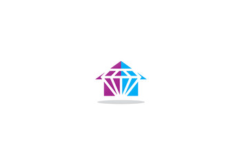 house diamond jewelry logo