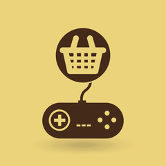 games online entertainment isolated icon design
