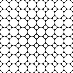 Polka dot geometric seamless pattern 17.07