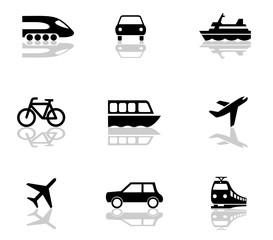 Icons Verkehr