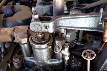 Vintage engine detail