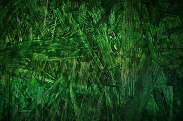 Green particle board wooden pattern background