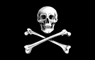 Vector Pirate Flag