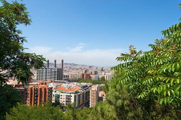 Barcelona Cityscape - Catalonia Spain