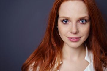 Sommersprossen blaue augen rote haare Ginger