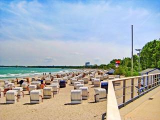 Fotobehang Oceanië Timmendorfer Strand, baltic sea, germany
