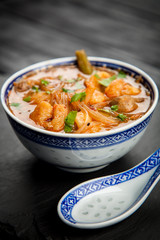 Asian shrimp soup