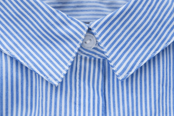 Shirt collar closeup