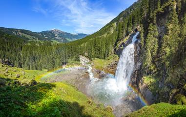 Krimmler Wasserfälle, Salzburger Land, Austria