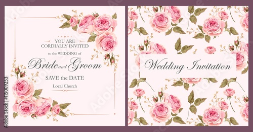 Vintage wedding invitation stock image and royalty free vector vintage wedding invitation stopboris Gallery