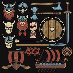 Viking elements