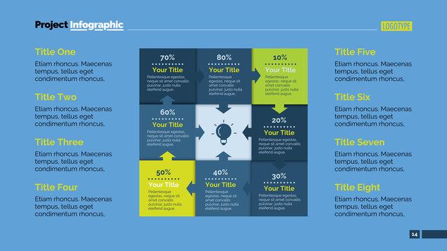 Matrix Slide Template