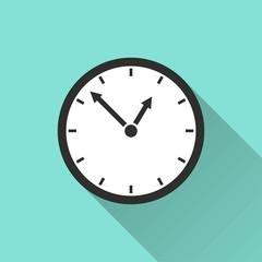 Clock - vector icon