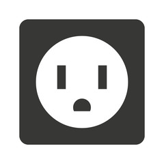 electrical outlet  isolated icon design